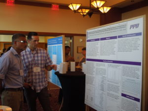 Discussion at Poster Session